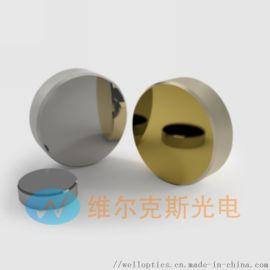 金属膜反射镜在宽波长范围内有相对均匀的反射率