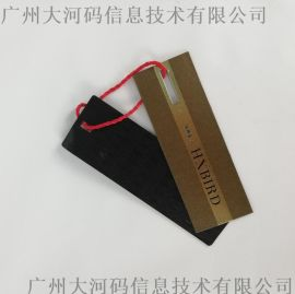 服装吊牌现货定做彩色衣服纸标签定制女装商标
