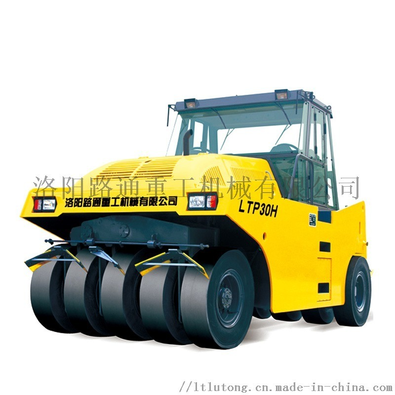 河南洛阳路通大型30吨轮胎五轮压路机
