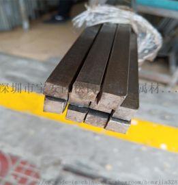316L不锈钢方棒 耐腐蚀拉丝光亮易车方棒