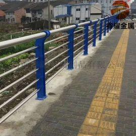 不锈钢隔离河道防护栏杆