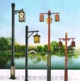四川熱鍍鋅美觀古典庭院燈批量供應