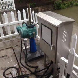 水利闸门 铸铁镶铜方闸门 手电两用启闭机闸门
