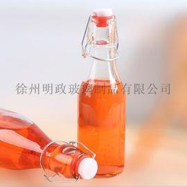 酵素泡酒瓶卡扣瓶密封瓶玻璃瓶果汁瓶储物瓶饮料瓶醋瓶