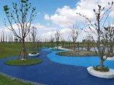 福建泉州彩色透水混凝土施工彩色透水地坪材料