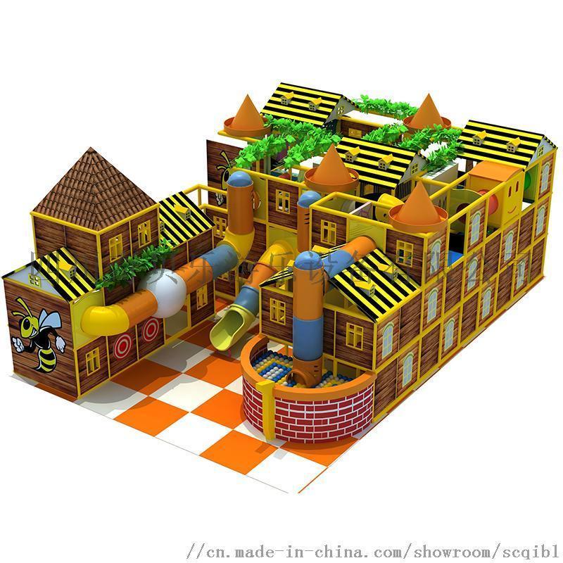 四川  室內兒童淘氣堡主題樂園定製