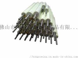 厂家供应聚氨酯包装机主动辊 包胶传送滚筒 输送辊筒 定制口罩机胶辊