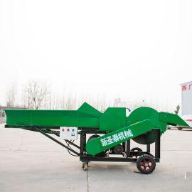 自动进料粉碎机 牧草粉碎揉搓机 大型秸秆揉搓机