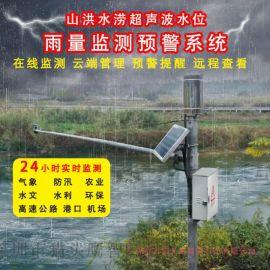 山洪水涝水位雨量监测预警系统