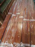 广东镀色304不锈钢木纹矩型扁管40*80*2.0