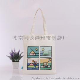 厂家定做帆布袋购物袋出口外贸购物袋环保袋