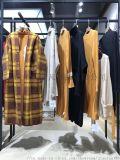 中  牦牛绒针织外披 广州女装市场折扣店拿货渠道