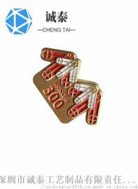 定制金属徽章,聚会活动纪念胸章,深圳胸章厂