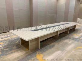 办公桌简约现代长条桌长桌会议室桌培训桌会议桌