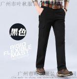 戶外工裝褲子直筒純棉工作褲 多口袋長褲定做