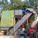 浙江集装箱卸灰机 码头粉煤灰中转设备 翻箱倒灰机