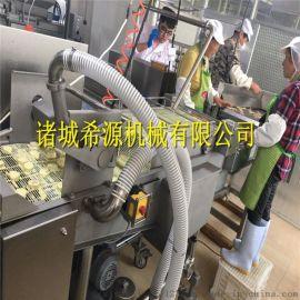 江南鱼肉饼成套加工设备 全自动上浆机 油炸机