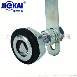 JK431锌合金电梯层门锁  电梯三角锁