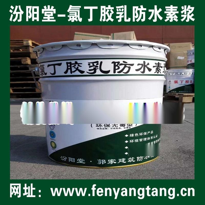 氯丁胶乳防水素浆/氯丁胶乳防水素浆生产/汾阳堂