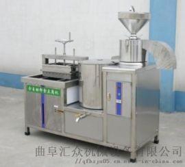全自动干豆腐机价格 多功能豆腐设备 利之健lj 卤
