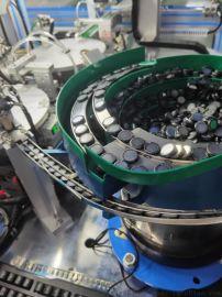 全自动扣式电池引脚激光振镜焊接生产线