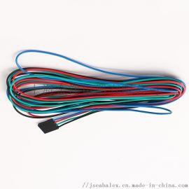 4芯杜邦2.54线束智能工业设备显示板连接线