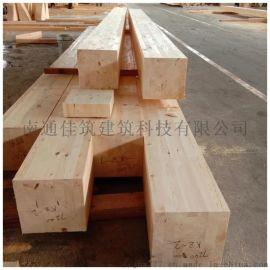 南通胶合木工厂生产加工高品质樟子松胶合木