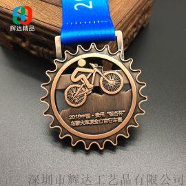 运动会浮雕镂空奖牌定做锌合金压铸异形奖牌