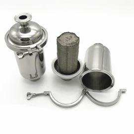 供应各种卫生级直通过滤器、快装管道过滤器