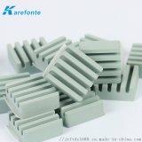 波纹背胶碳化硅陶瓷片 环保碳化硅陶瓷散热片