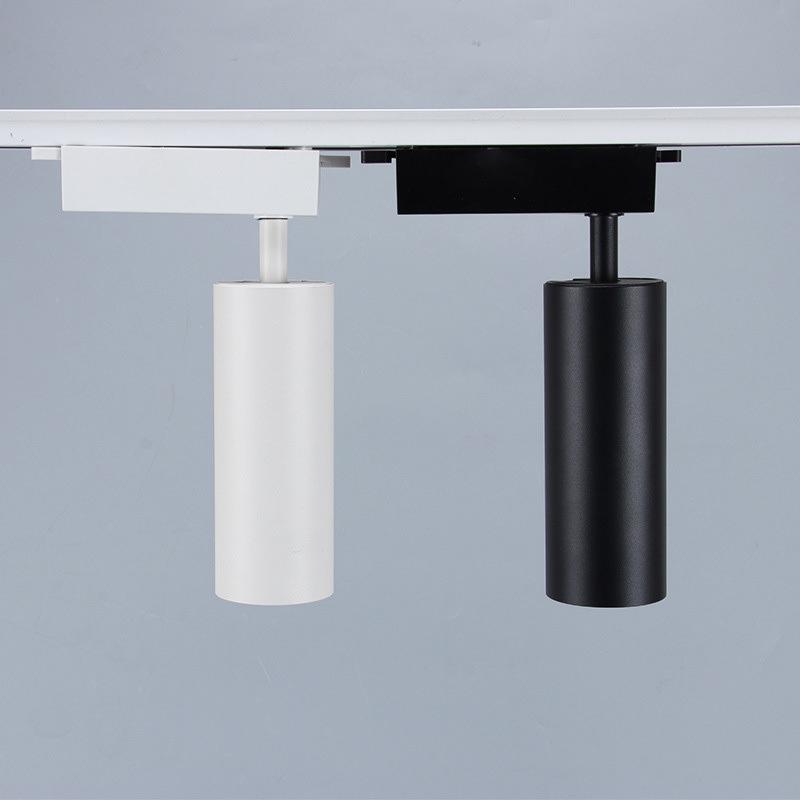 led射燈 商用家用背景牆軌道燈 明裝COB導軌燈