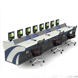 双联操作台 监控控制台 机柜调度台 安防设备操作台