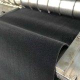 防滑黑絨包輥帶 印染機包輥黑絨刺皮