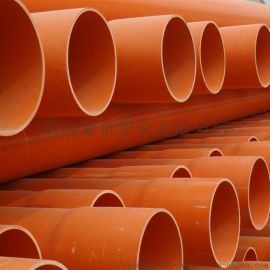 湖南橙色穿线管PVC电力管CPVC电缆管优缺点