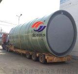 新疆博樂市一體化預製泵站污水提升泵站廠家