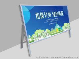 优质铝合金银行展示架厂家质量有保证
