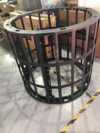 LED圆柱,P2.5圆柱屏,直径1米圆柱显示屏
