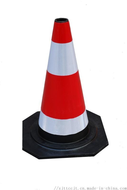 橡胶路锥圆锥反光锥路障道路警示雪糕桶锥形桶停车
