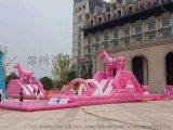 安徽儿童大型充气滑梯19新款厂家批发