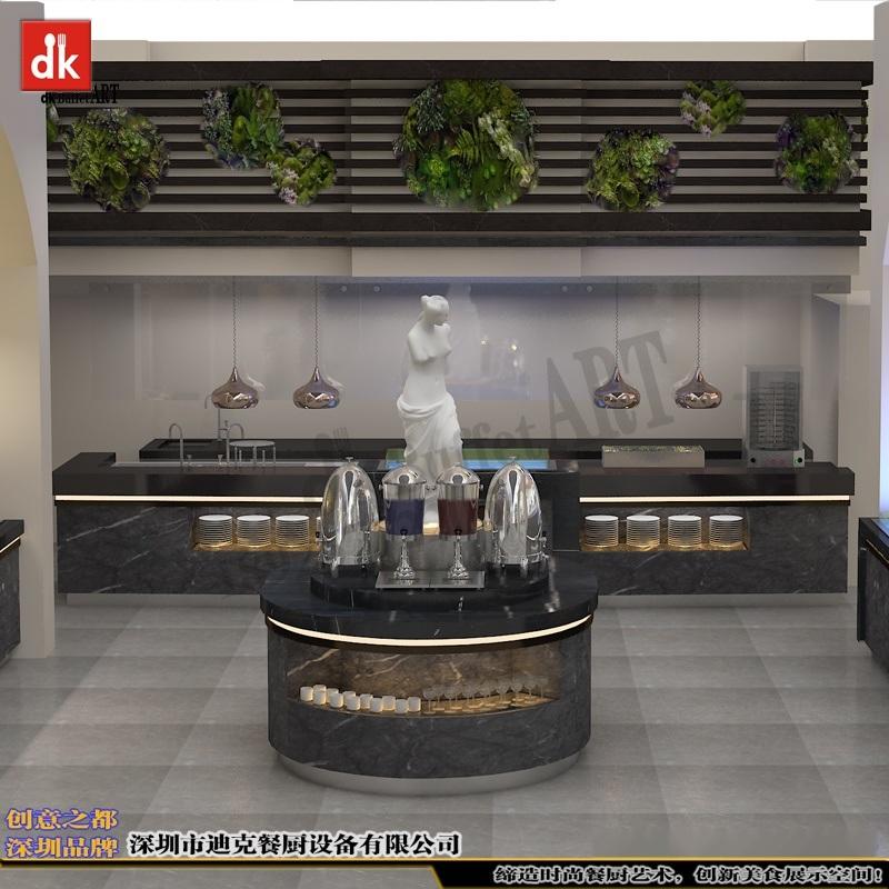 广东专业设计酒店自助餐台 餐厅设计 自助餐台图片