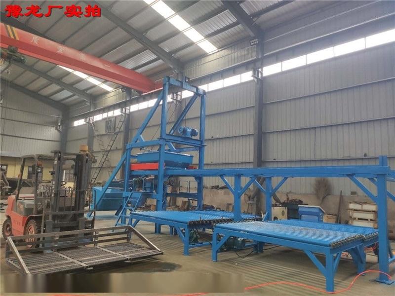 小型混凝土預製構件自動化生產線/u型槽水泥預製塊生產線設備