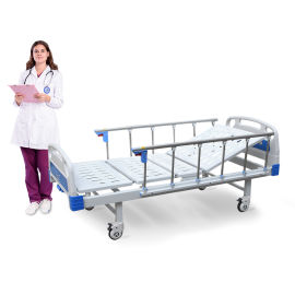 SK-B1 A1k ABS单摇医疗床 手动病床