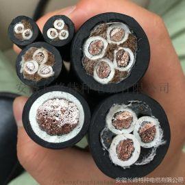 5芯硅橡胶电力电缆GG22/5*4钢带铠装电缆