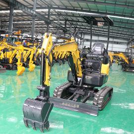小型挖掘机直销厂家 20型挖掘机 果园挖坑机