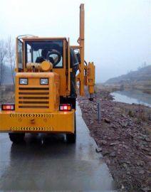 天津高速公路打桩机施工视频