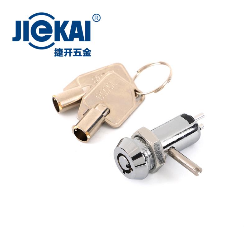 JK012 电源铁棒双功能  开孔12MM电源锁