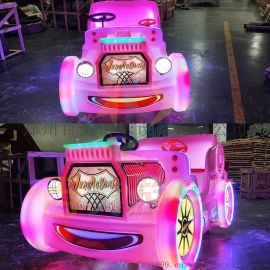 在广场经营儿童电动发光碰碰车还是新款的受欢迎