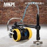 进口船体清洗爬壁机器人M7高压水清洗机器人