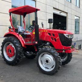农用四轮旋耕松土机 东方红拖拉机 中型多缸704