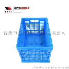 SHG 塑料折叠周转箱604034C2 有孔物流箱